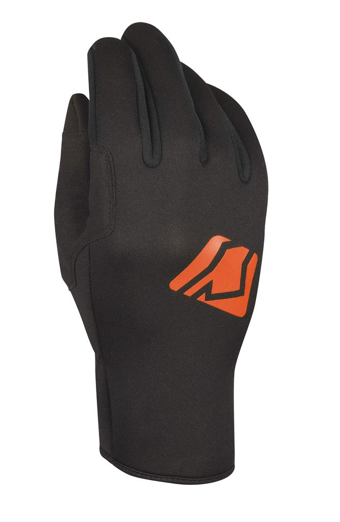 SKUTSI GLOVE - BLACK / ORANGE