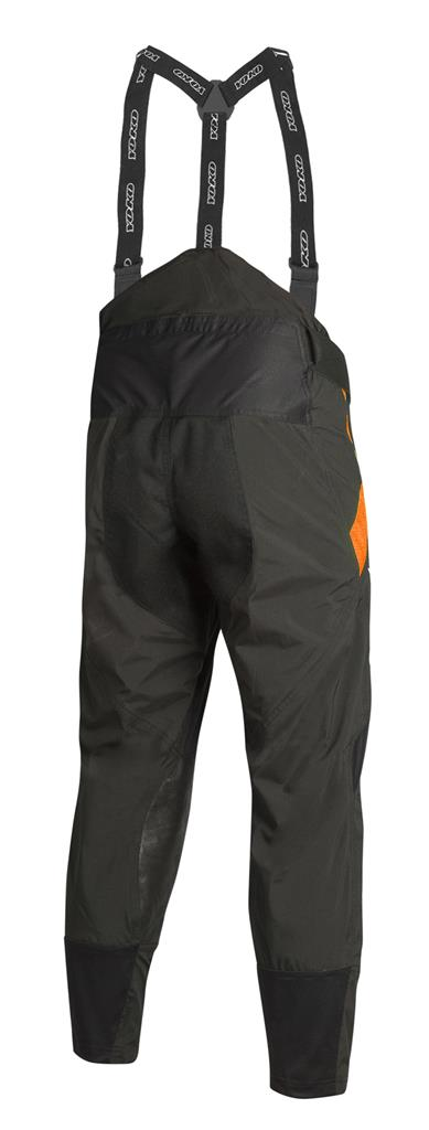 XS - SKUTSI PANT - BLACK / ORANGE