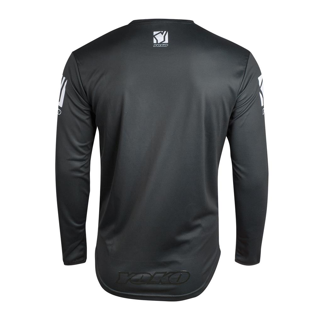 M - SCRAMBLE JERSEY - BLACK / WHITE