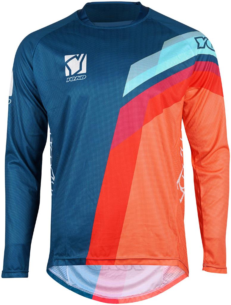 VIILEE JERSEY - BLUE/ ORANGE / BLUE