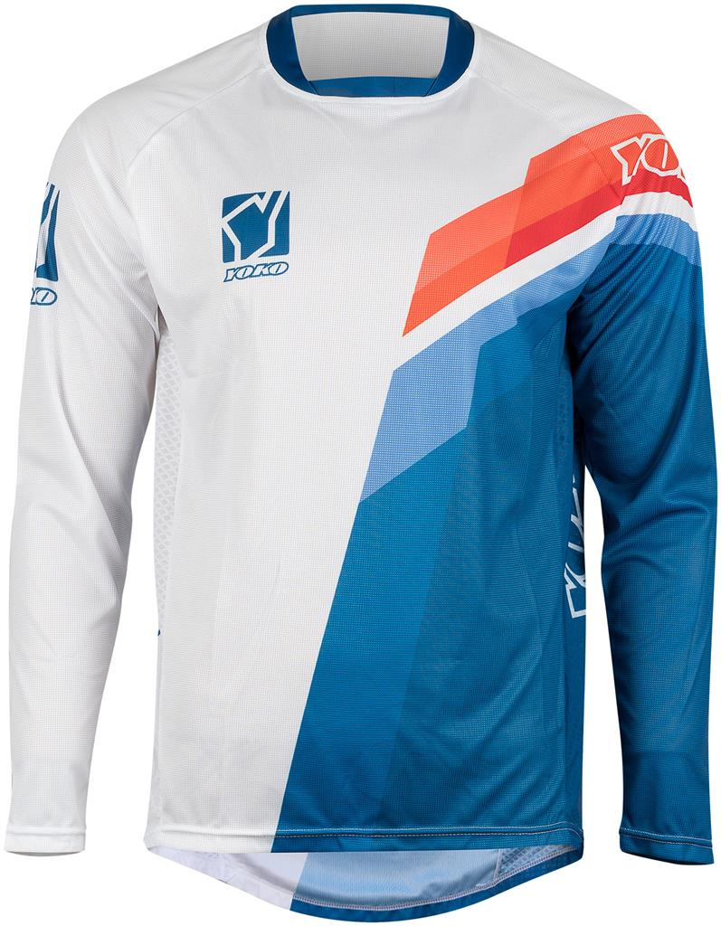 VIILEE JERSEY KIDS - WHITE / BLUE /FIRE