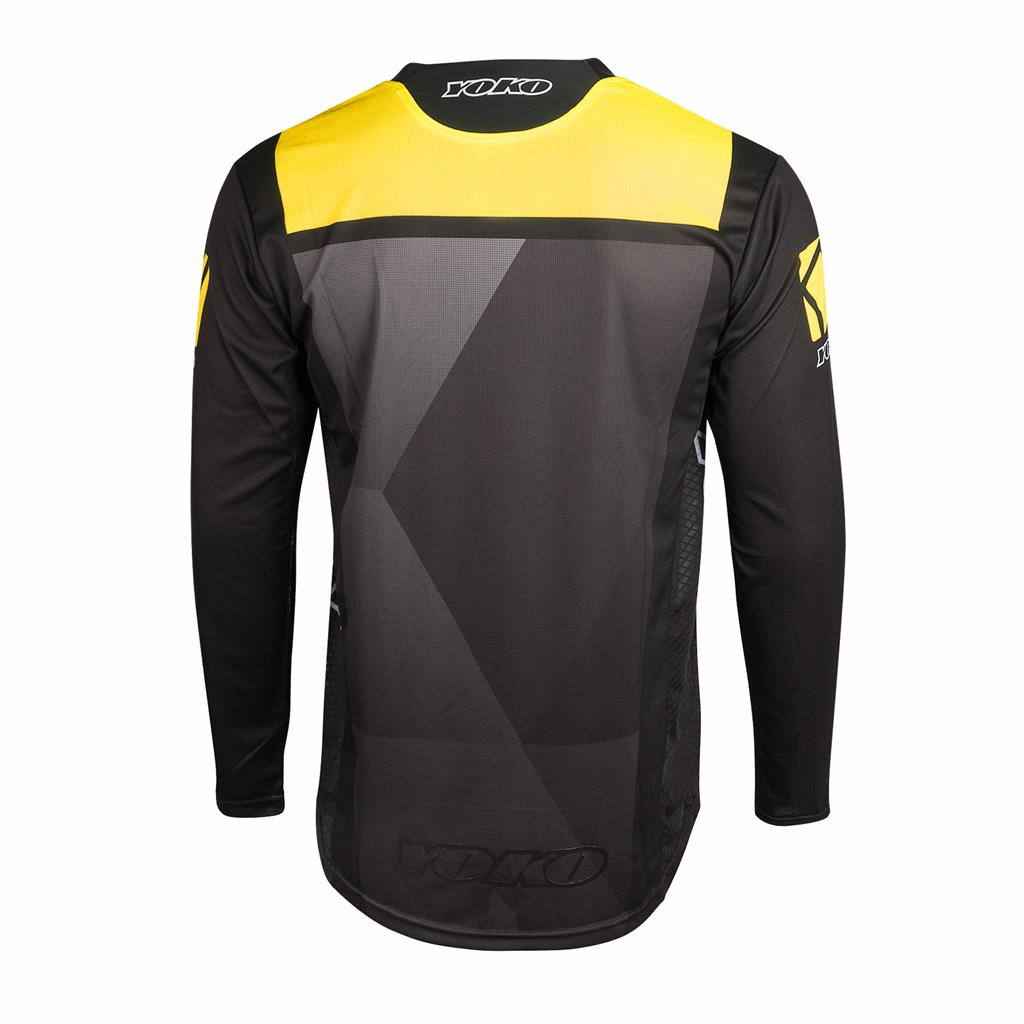 KISA JERSEY KIDS - BLACK / YELLOW