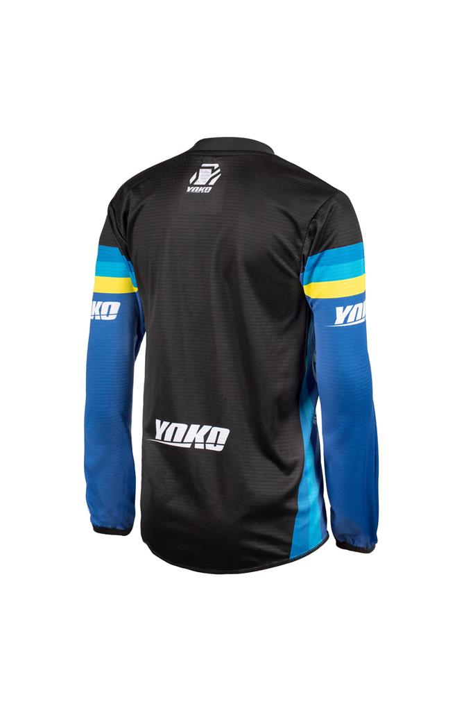 SKIDI JERSEY (XXS-XS) - BLUE / BLACK / YELLOW