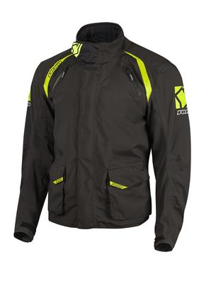 SKUTSI JACKET - BLACK / YELLOW