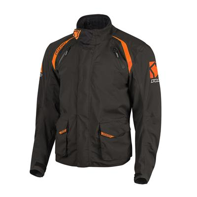 SKUTSI JACKET - BLACK / ORANGE