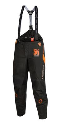 SKUTSI PANT - BLACK / ORANGE