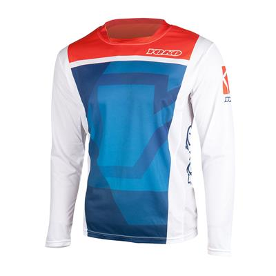 KISA JERSEY - BLUE / RED
