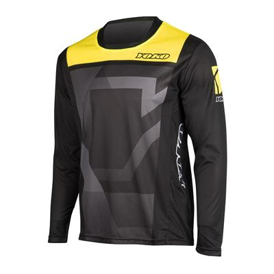 KISA JERSEY - BLACK / YELLOW