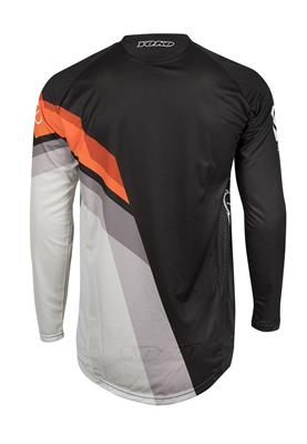 VIILEE JERSEY - BLACK / WHITE / ORANGE