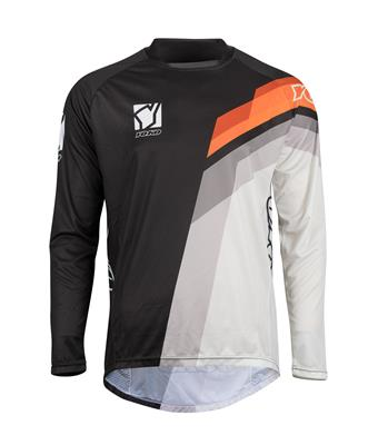 M - VIILEE JERSEY - BLACK / WHITE / ORANGE
