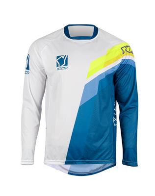 VIILEE JERSEY - WHITE / BLUE / YELLOW