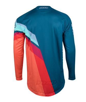 M - VIILEE JERSEY - BLUE/ ORANGE / BLUE