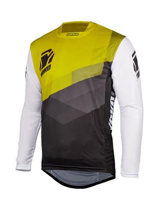 TWO JERSEY - BLACK / WHITE / YELLOW