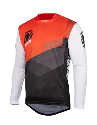TWO JERSEY - BLACK / WHITE / ORANGE