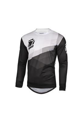 TWO JERSEY - BLACK / WHITE
