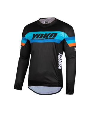 TRE JERSEY - BLACK / BLUE / ORANGE