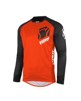 ONE JERSEY - BLACK / ORANGE