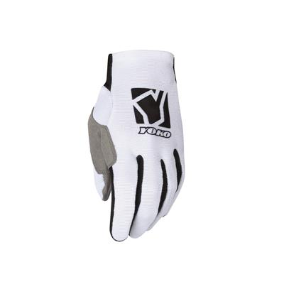 SCRAMBLE GLOVE - WHITE / BLACK