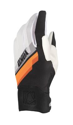 ONE GLOVE - BLACK / ORANGE / WHITE
