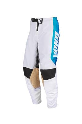 "SKIDI PANT (20""-27"") - WHITE / BLUE / BLACK"