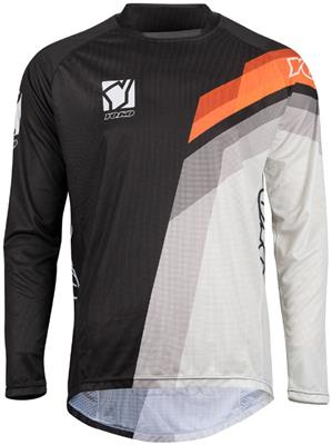 M - VIILEE JERSEY KIDS - BLACK / WHITE / ORANGE
