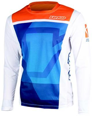 KISA JERSEY KIDS - BLUE / ORANGE